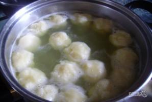 Клецки для супа - фото шаг 2