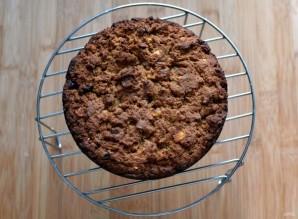 Пирог на арахисовой пасте постный - фото шаг 7