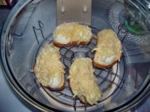 Бутерброды с яйцом и сыром - фото шаг 5