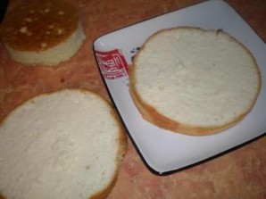 Торт двухъярусный - фото шаг 3