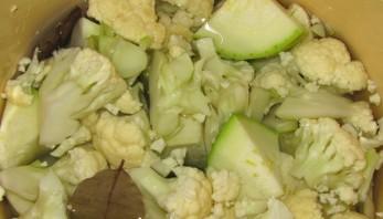 Суп из цветной капусты постный - фото шаг 1