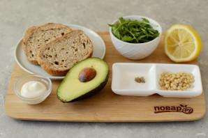 Бутерброд с авокадо - фото шаг 1