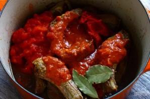 Свиные ребра в соусе с оливками - фото шаг 9