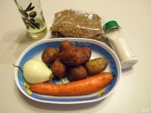 Постный суп из чечевицы - фото шаг 1