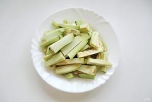 Острая закуска из баклажанов - фото шаг 2