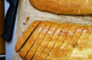 Миндальное печенье с цедрой - фото шаг 4
