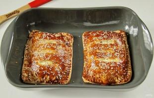 Рыба, запеченная в тесте в духовке - фото шаг 9