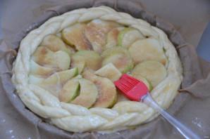 Дрожжевой пирог с грушами - фото шаг 12