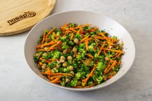 Салат из нута с брокколи - фото шаг 5