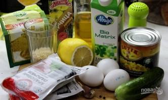 Вкусный крабовый салат - фото шаг 1