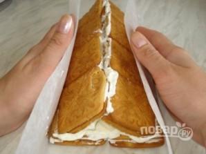 Пирог из печенья и творога без выпечки - фото шаг 5