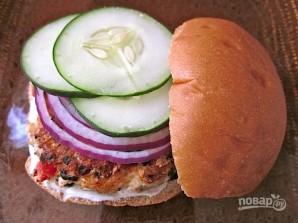 Бургер по-гречески - фото шаг 9