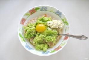 Запеканка с куриным фаршем и кабачком - фото шаг 5