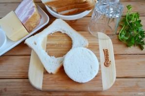 Хлебные корзиночки с начинкой - фото шаг 2