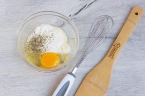 Кабачки в йогуртовом кляре с сыром - фото шаг 3