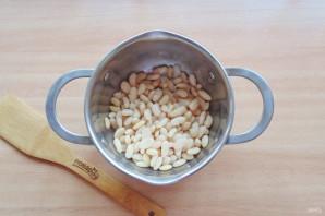 Салат с фасолью и огурцами - фото шаг 4