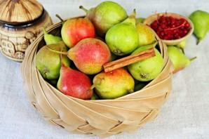 Начинка для зимних пирогов из груш с лимонником и корицей - фото шаг 1