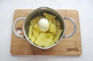 Картофельное пюре с майонезом - фото шаг 3
