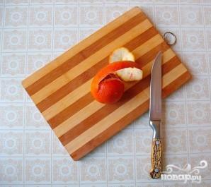 Легкий салат из риса, курицы и фруктов - фото шаг 2