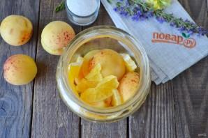 Компот из абрикосов и апельсинов на зиму - фото шаг 3