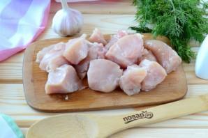 Куриная грудка, запеченная в кефире - фото шаг 2