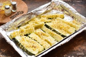 Цукини с сыром в духовке - фото шаг 6