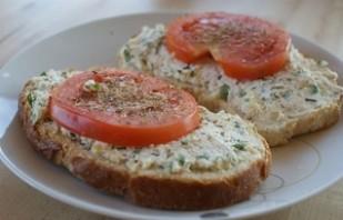 Бутерброды с творожным сыром - фото шаг 4