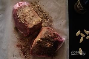 Бургер со свининой и капустой - фото шаг 2