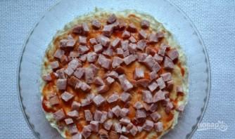 Пицца без дрожжей на кефире - фото шаг 7