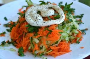 Салат из огурца и моркови - фото шаг 7