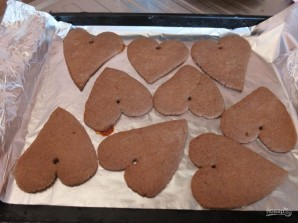 Расписное новогоднее печенье - фото шаг 3