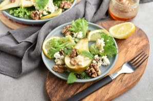 Салат с грушей - фото шаг 7
