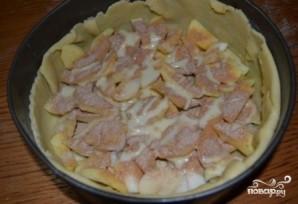 Яблочный пирог в духовке - фото шаг 16