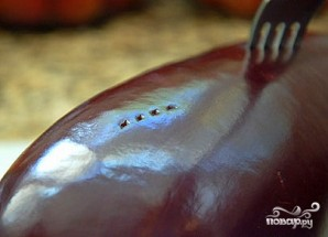 Греческий салат из баклажанов - фото шаг 1