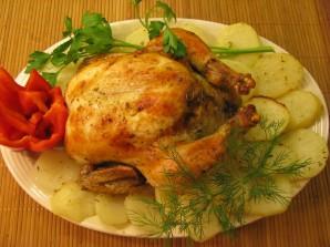 Румяная курица в мультиварке - фото шаг 3