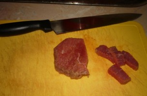 Салат из говядины с помидорами - фото шаг 1