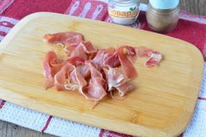 Салат с хамоном и рукколой - фото шаг 2