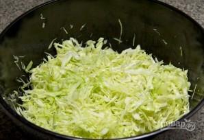 Салат с сухариками и курицей - фото шаг 3