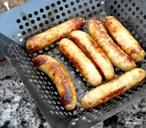 Колбаски для жарки - фото шаг 5