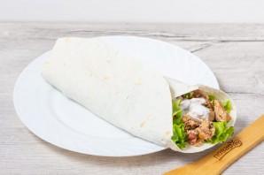 Буррито из индейки на завтрак - фото шаг 9