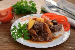 Стифадо из говядины с рисом - фото шаг 7