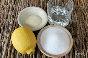 Глазурь для куличей с желатином без яиц - фото шаг 1