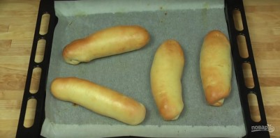 Рецепт булочек для хот-дога - фото шаг 7