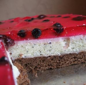 Пирог с желе - фото шаг 4