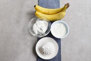 Банановый крем