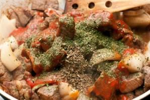Жареная баранина с картошкой   - фото шаг 4