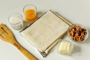 Круассаны с ореховой начинкой - фото шаг 1
