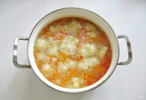 Суп из индейки с цветной капустой - фото шаг 7