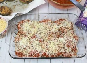 Запеченные баклажаны с томатным соусом и сыром - фото шаг 5