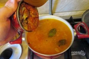 Суп с килькой - фото шаг 10